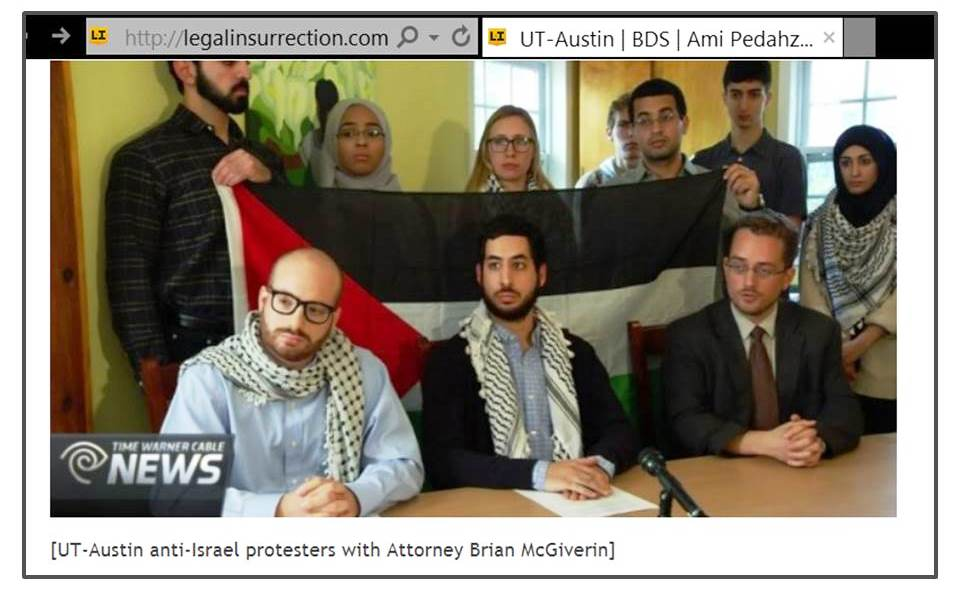 BDS bullies disrupt lectures
